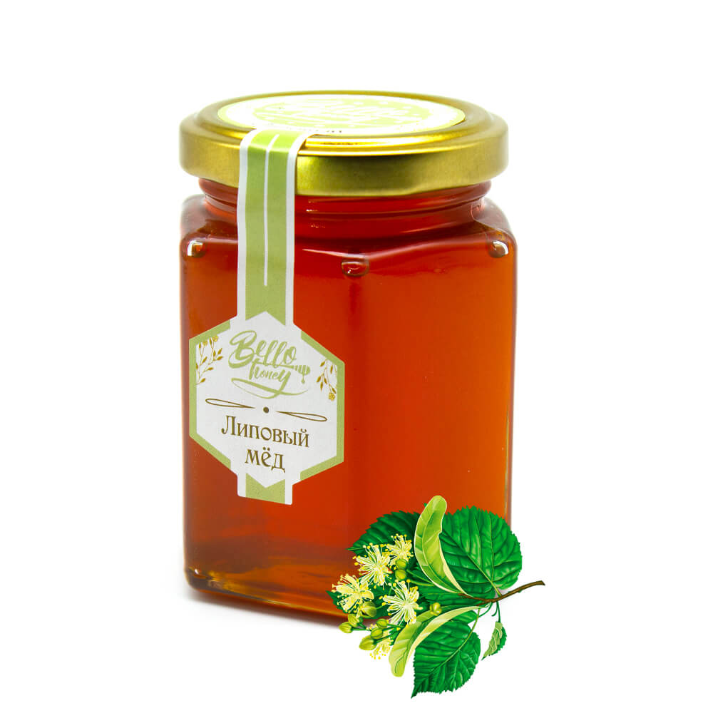 Липовый мед BelloHoney