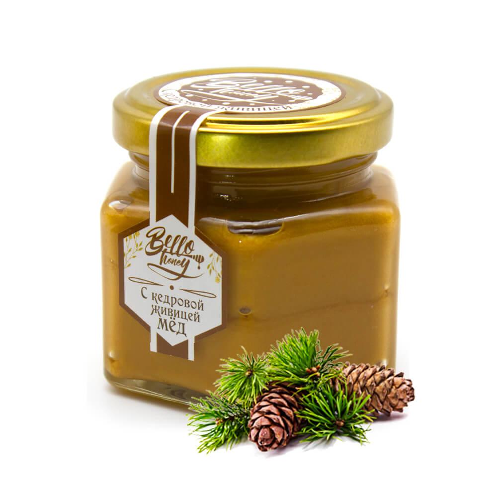 Крем-мед с кедровой живицей BelloHoney