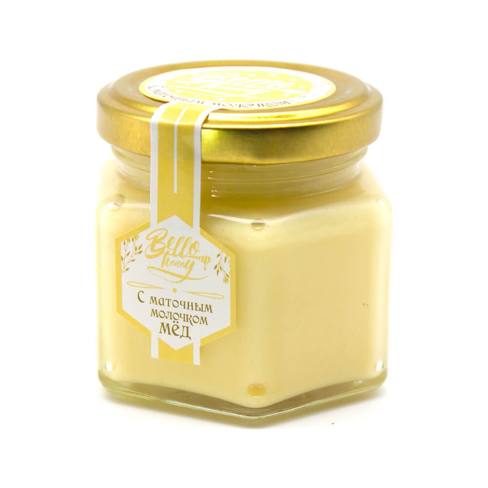 Крем-мед с маточным молочком BelloHoney