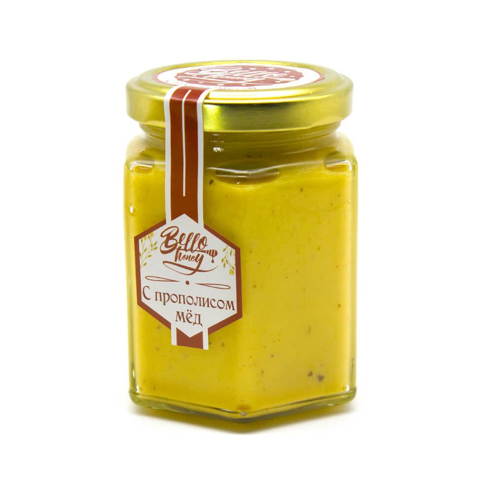 Крем-мёд с прополисом BelloHoney