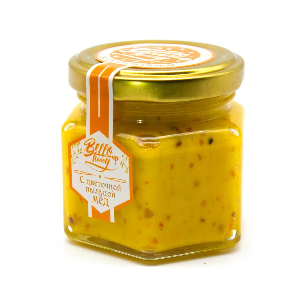 Крем-мед с цветочной пыльцой BelloHoney