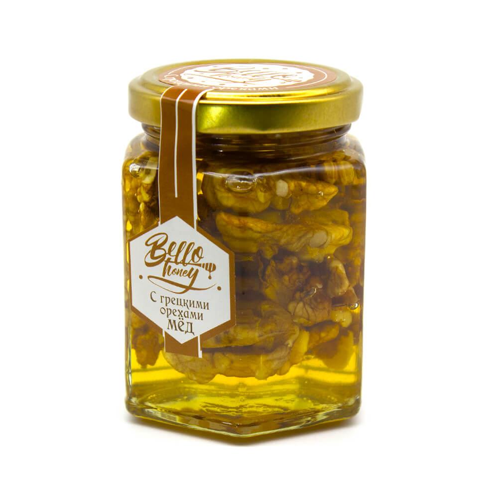 Грецкий орех в меду BelloHoney